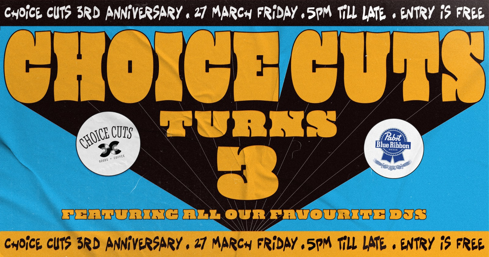Choice Cuts Turns 3! POSTPONED BUT STILL OPEN FOR SNEAK PREVIEW (LIMITED SPACE REDUCED)